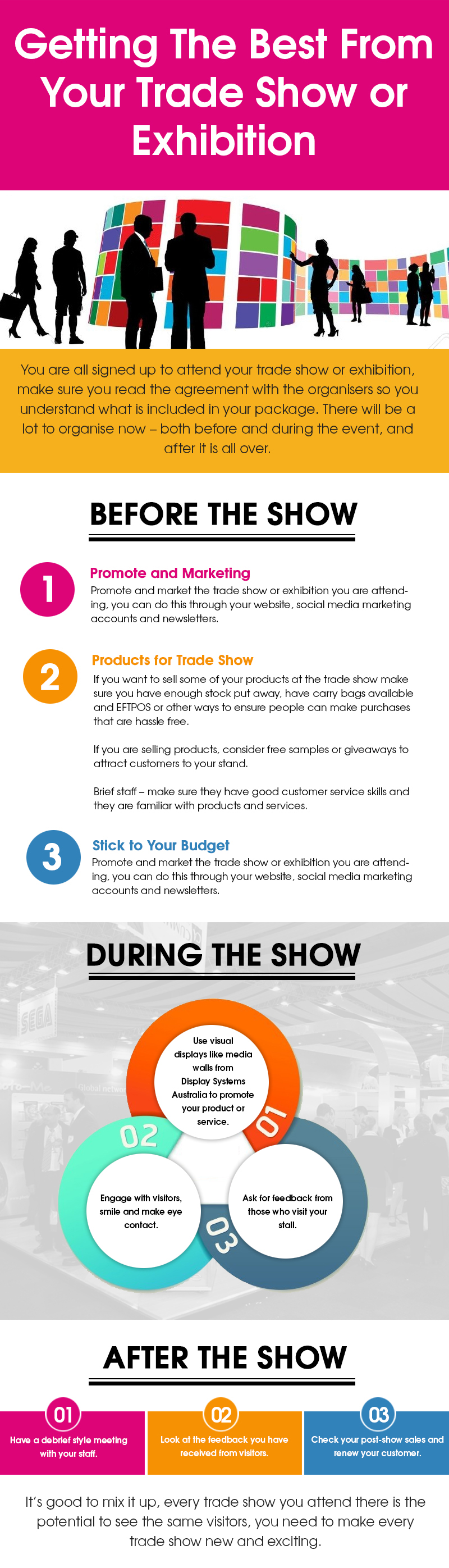 Getting The Best From Your Trade Show or Exhibition