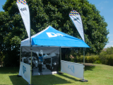 MARQ - outdoor marquee with custom branding