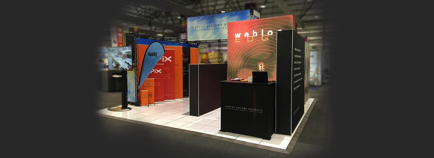 Exhibition Displays Australasia Brookvale : Exhibition banners display banner stands display systems australia